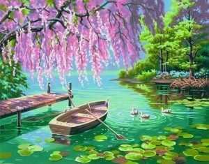"""91491 DMS """"Весенняя красота"""" - раскраска"""