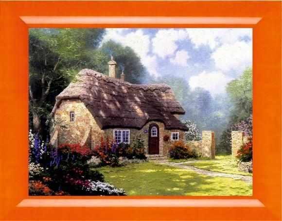 017 Викторианский домик