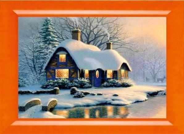 023 Зимний домик