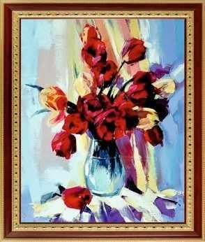 078 Букет тюльпанов