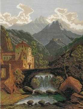 0021 Замок в горах (Nitex)