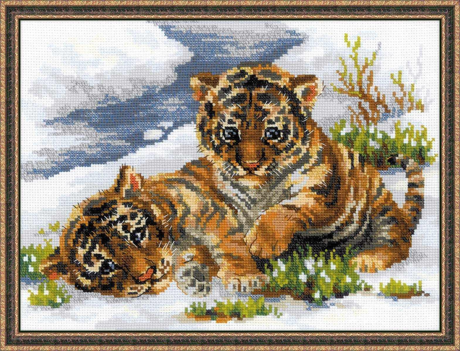"""1564 """"Тигрята в снегу"""""""