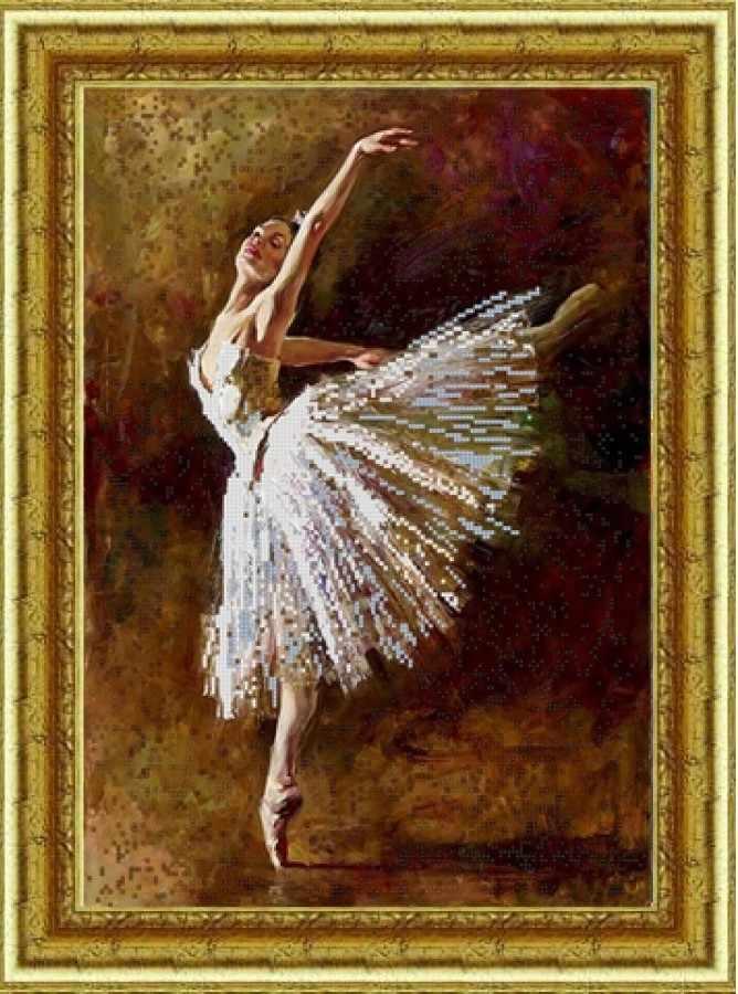 НИК 9840 Балерина - схема для вышивания (Конёк)