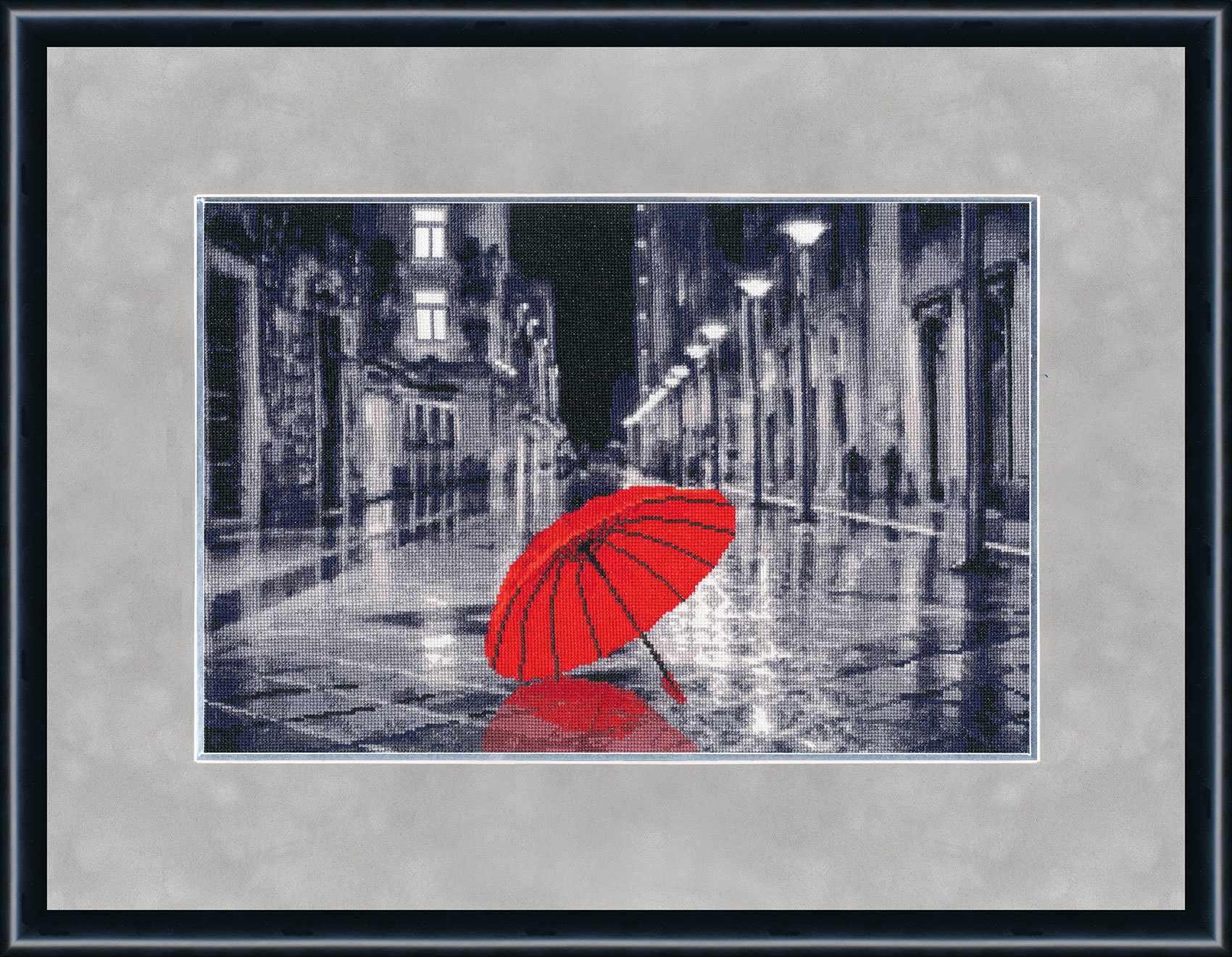 ГМ-024 Красный зонтик. Городские мотивы.