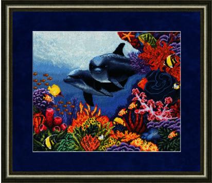ПМ-010 Коралловый сад .Подводный мир