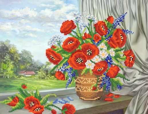 РКП-487 Симфония лета - схема для вышивания (Марiчка)
