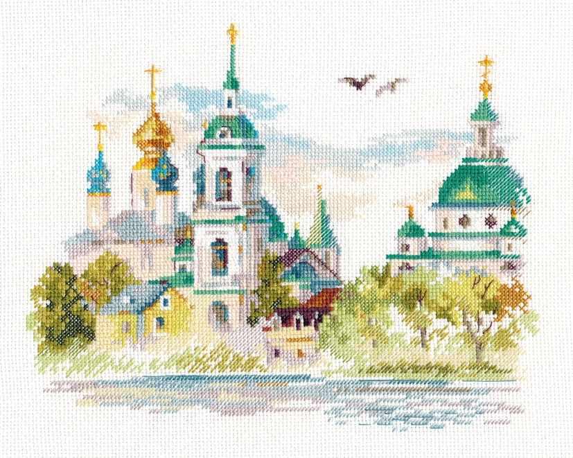 3-23 Ростов Великий. Спасо-Яковлевский монастырь