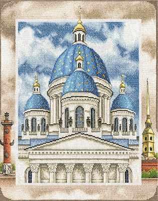 """ЦМ-1814 """"Троице-Измайловский собор в Санкт-Петербурге"""""""