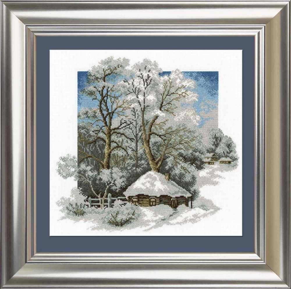 """680 """"Зима в деревне"""""""