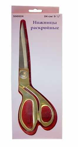 590024 Ножницы раскройные 24 см