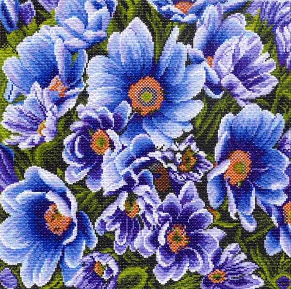 1211 Весенний луг - рисунок на канве (МП)
