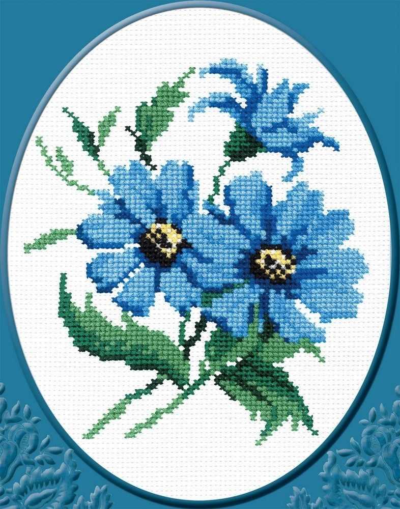 """174ст """"Синие цветочки"""""""
