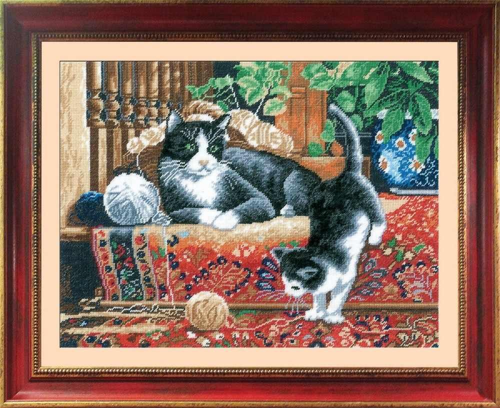 """467 """"Кошки на ковре"""""""