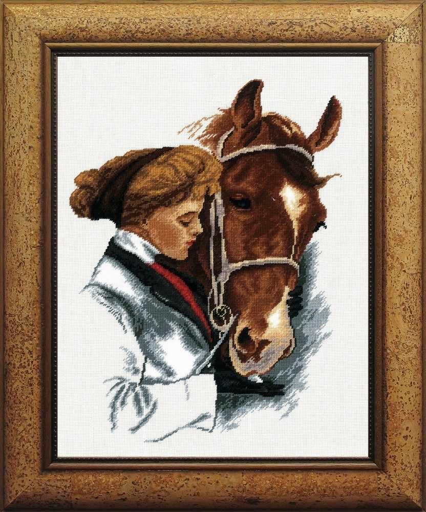 """478 """"Девушка с лошадью"""""""