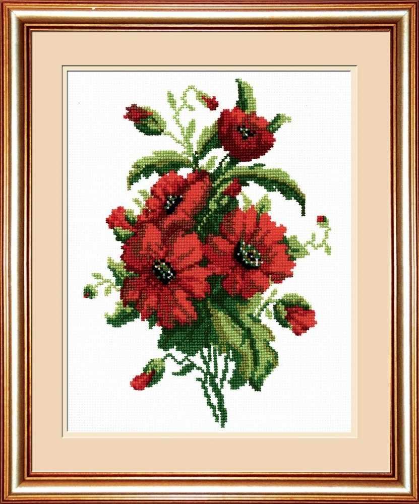 """734 """"Красные цветочки"""""""