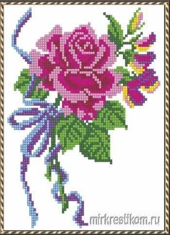 "546 Набор ""Розовая роза"""