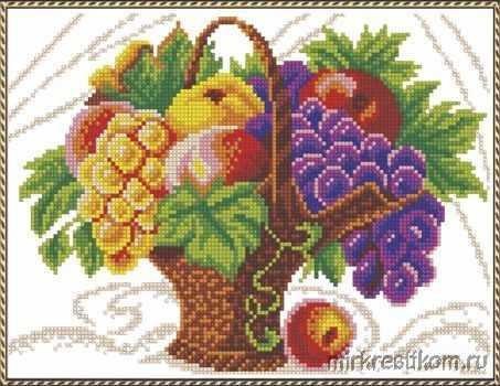 545 Корзина с фруктами