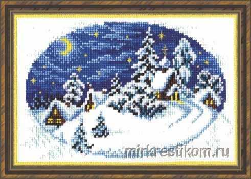 432 Деревня зимой