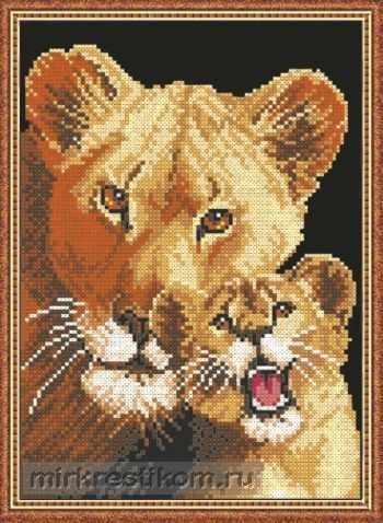 609 Львица и львенок