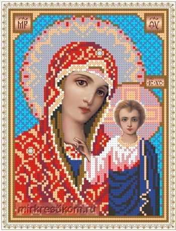 ББ302 Образ Казанской Пр.Богородицы