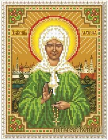 ББ310 Образ Блаженная Матрона Московская