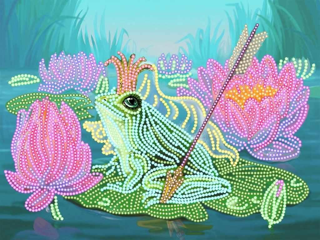 4172 Царевна-лягушка - схема для вышивания (Матрёнин посад)
