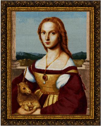 МК-027 Дама с единорогом. Музейная коллекция