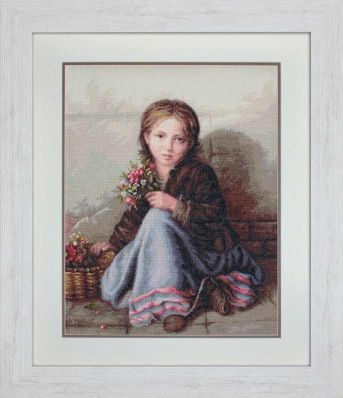 G513 Портрет девочки