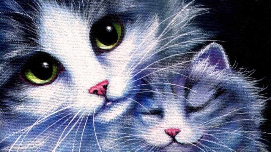 S-545 Милые котята  - мозаика Милато