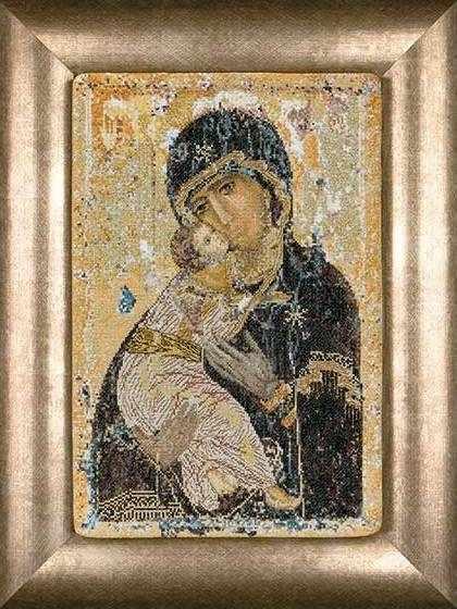 0531A Владимирская Икона Божией Матери