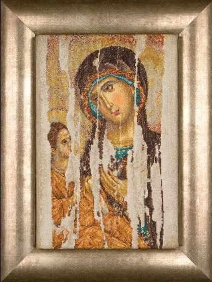 0475A Икона Богородица