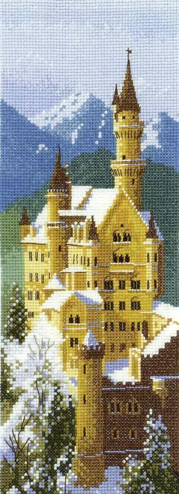 620JCNC Замок Нейшванштейн