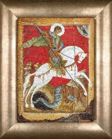 498A Икона Георгий Победоносец