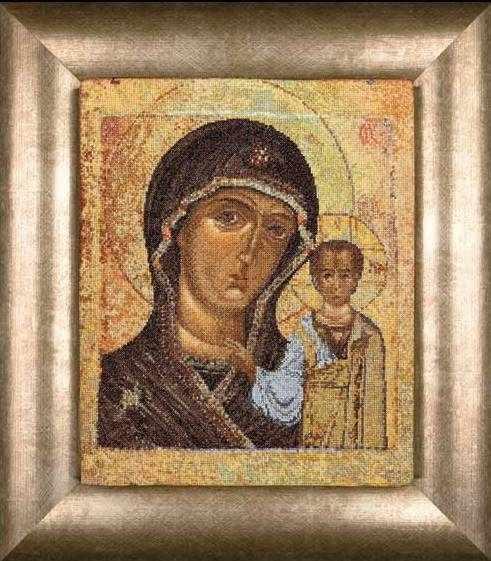 0477A Икона Казанской Божьей матери
