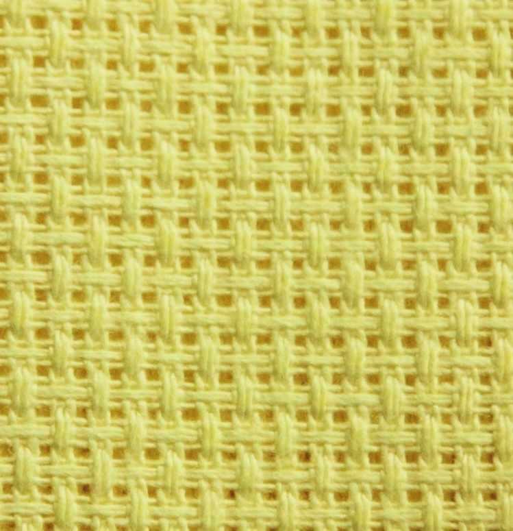 Канва Белоруссия желтый (55/10) хлопок
