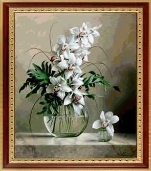 005 Белые орхидеи