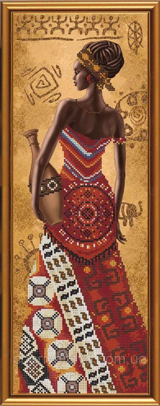 НД 2076 Африканка с кувшином