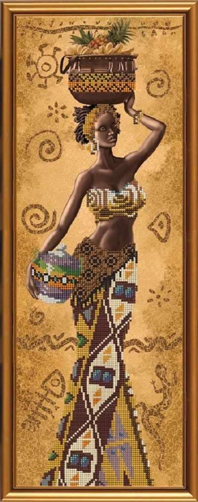 НД 2078 Африканка с фруктами