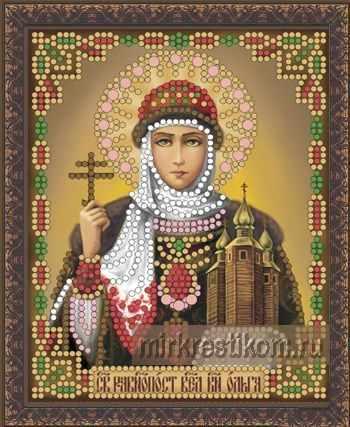 ББ-058 Св. Равноапостольная великая княгиня Ольга - схема для вышивания (Искусница)