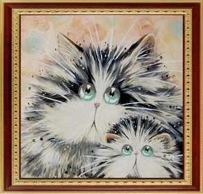 025 Задумчивые коты