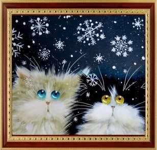 034 Удивленные коты