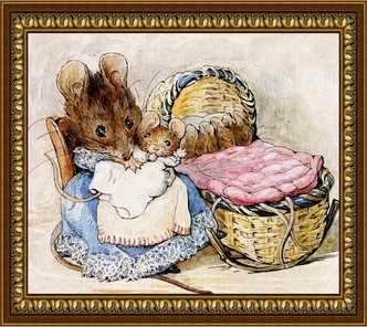 G-028 Мышка-нянька