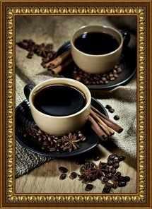 G-038 Кофейная пара