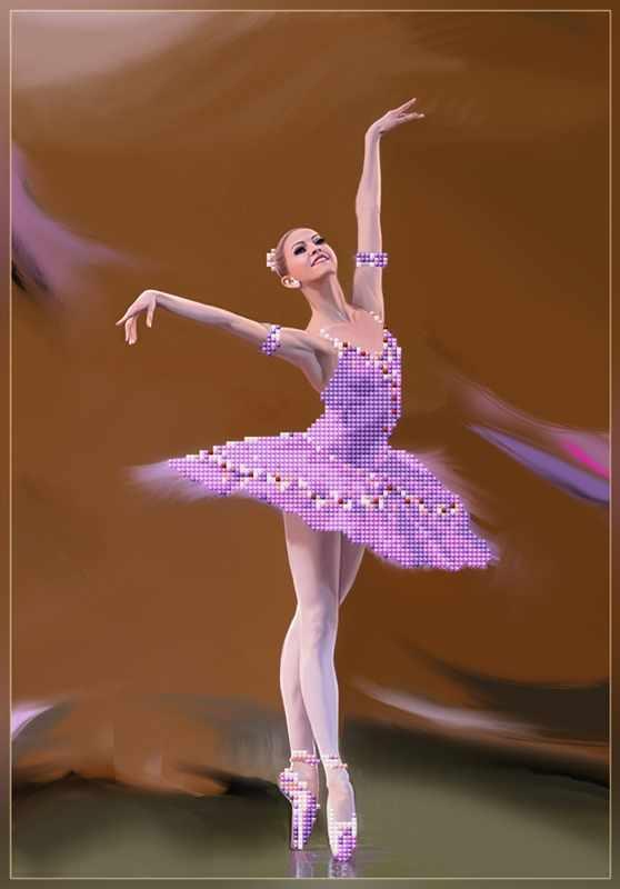 бис-026арт Гармония танца - схема для вышивания (Художественные мастерские)