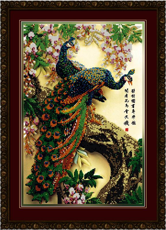 бис-036арт Королевский сад - схема для вышивания (Художественные мастерские)