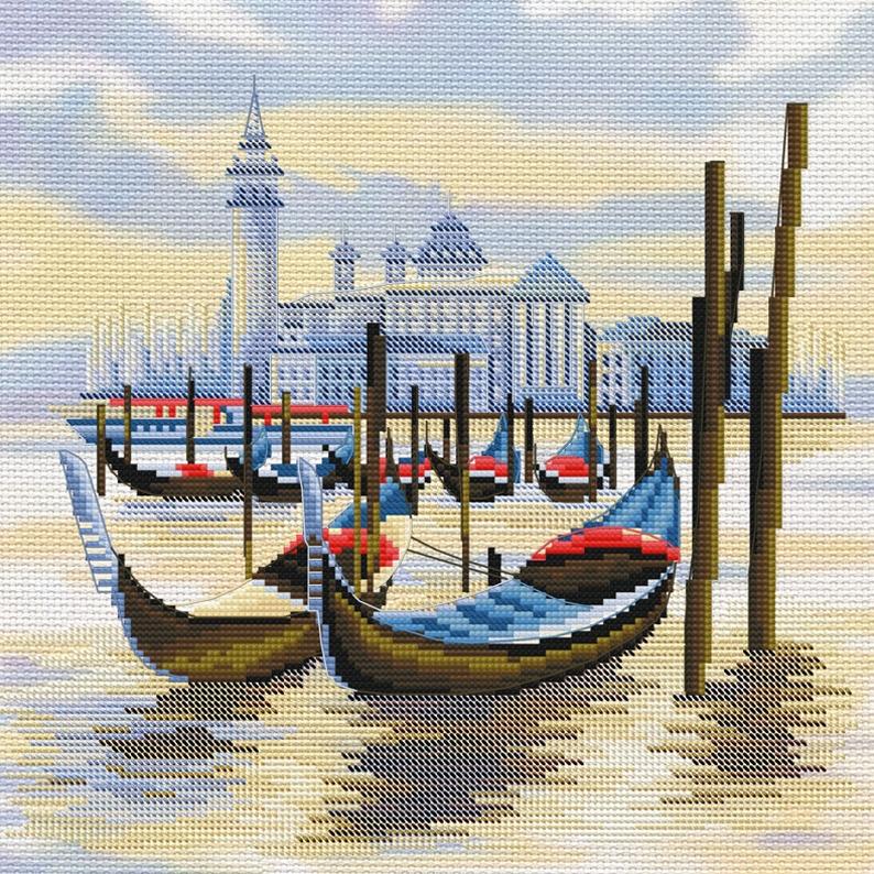 СВ 4069 Пристань в Венеции