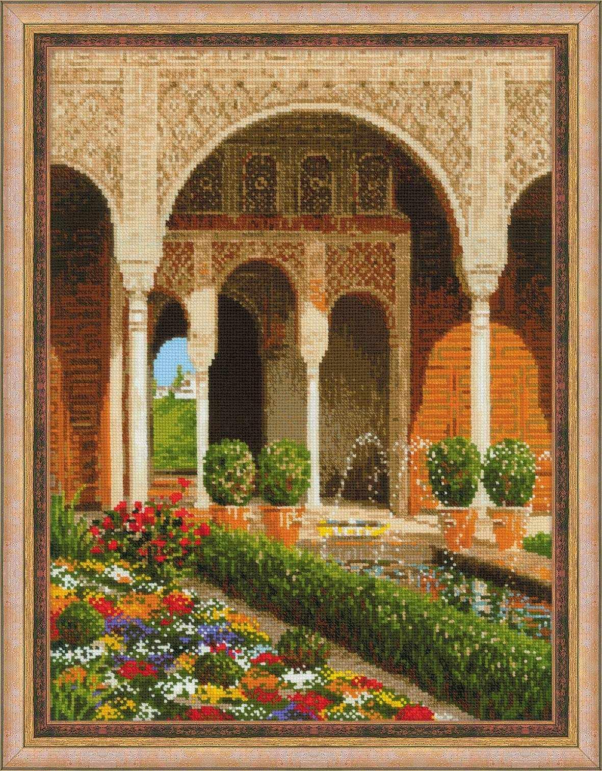 """1579 """"Двор ручья,Дворец Хенералифе"""""""