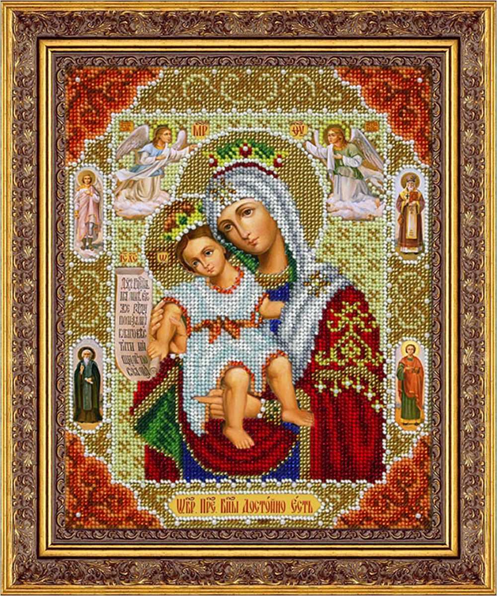 Б1061 Пр. Богородица Достойно есть (Паутинка)