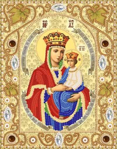 НИК-5317 Богородица «Споручница грешных» (Марiчка)