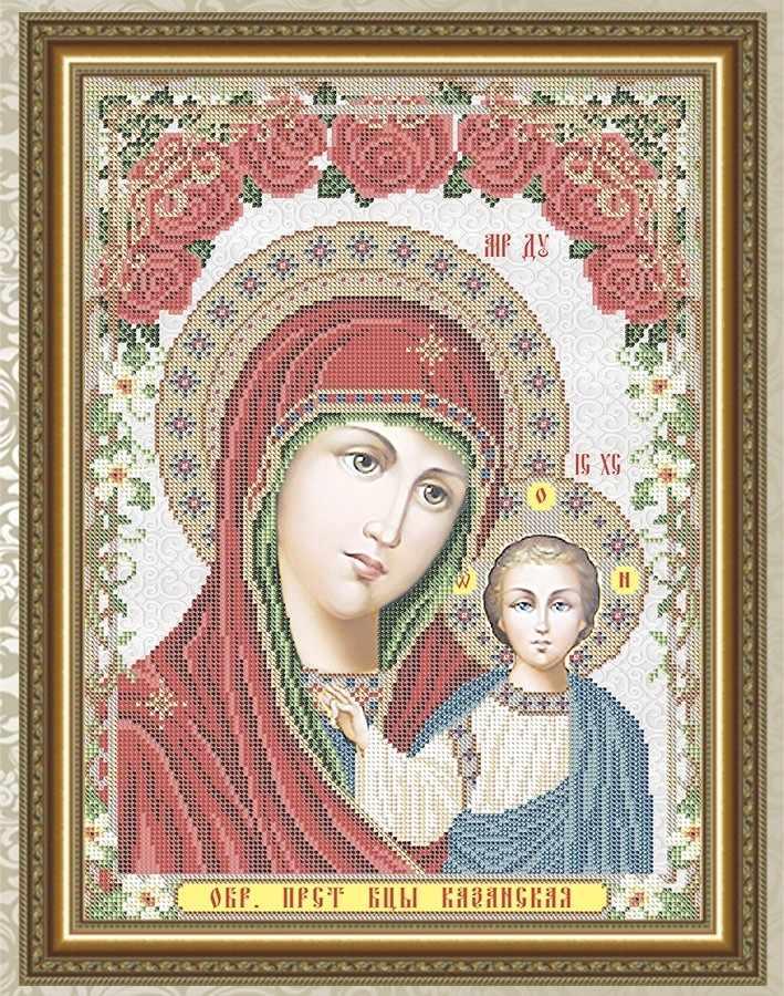 VIA3008 Пресвятая Богородица Казанская - схема для вышивания (Art Solo)